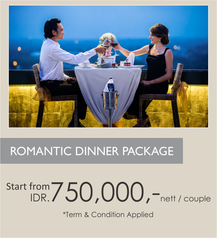 Romantic Dinner Package Indoluxe Hotel Social Funcion